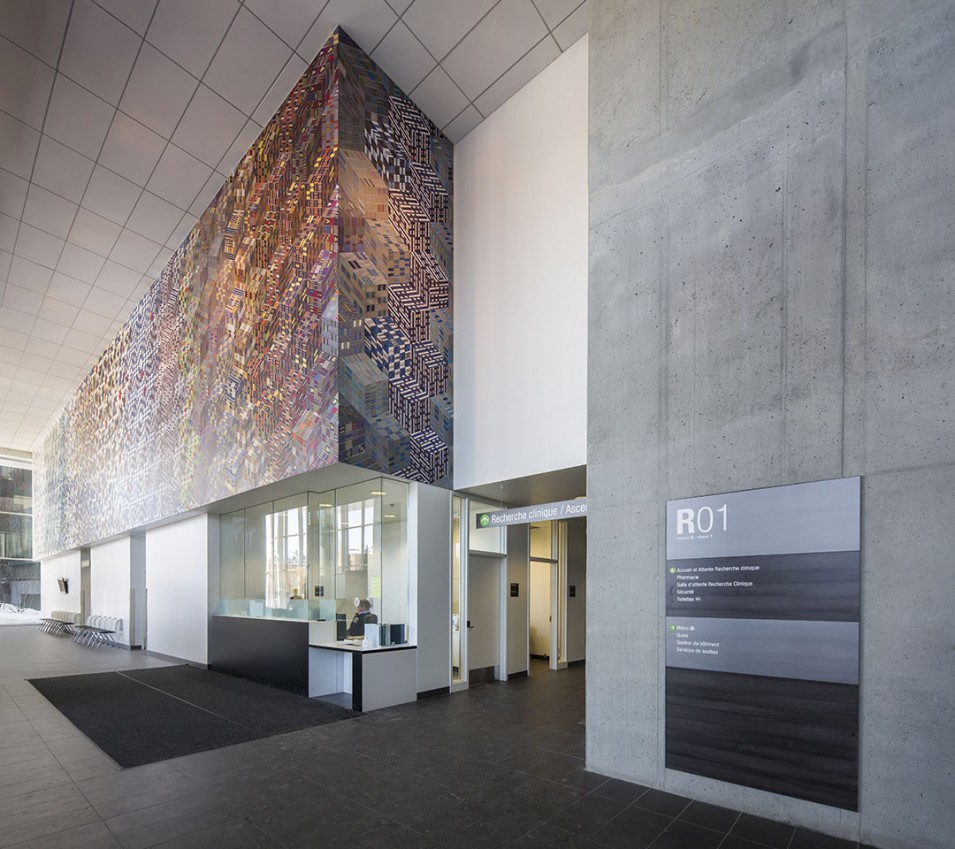 CHUM Research Centre - LEED Gold - Jodoin Lamarre Pratte