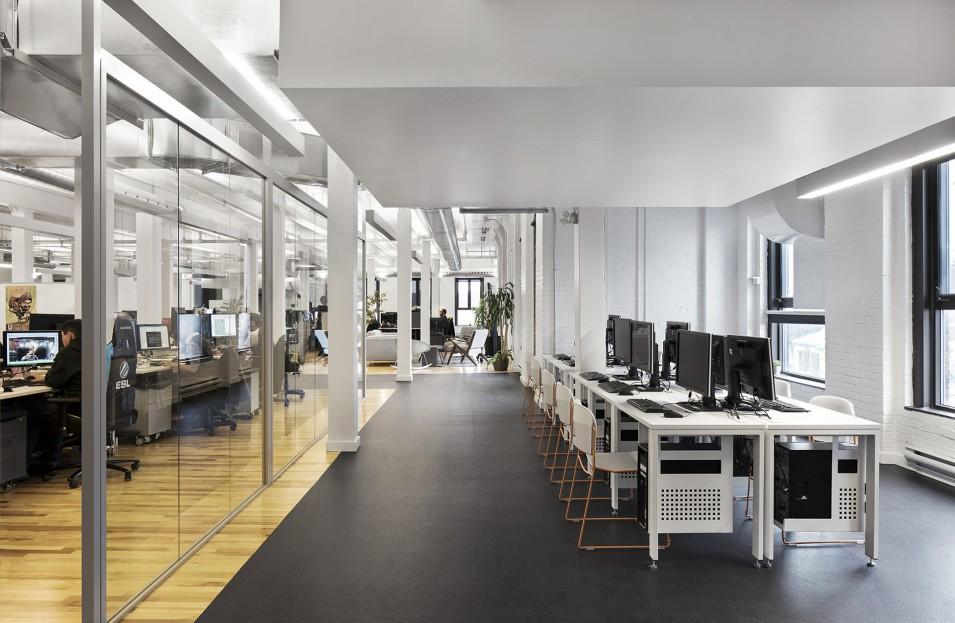 Smith vigeant architectes ubisoft montréal design de bureaux